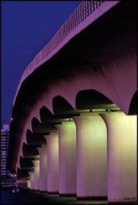 Ringling Bridge in Sarasota Florida